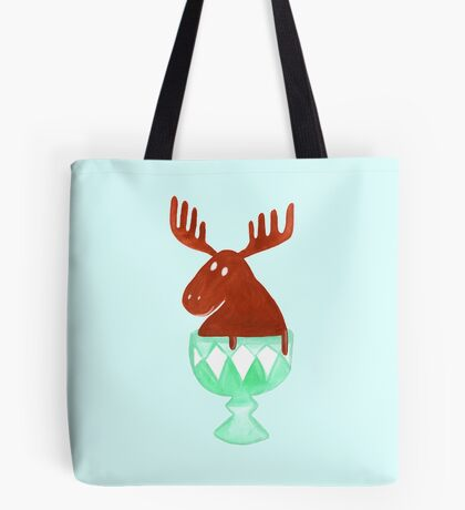 Chocolate Moose Tote Bag