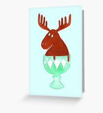 Chocolate Moose Greeting Card