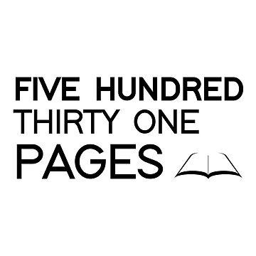 531 PAGES (black) - LDStreetwear by LDStreetwear