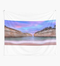 Loch Ard Gorge Panorama Wall Tapestry