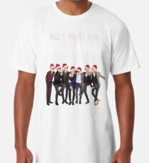 All I want for Christmas is BTS Long T-Shirt