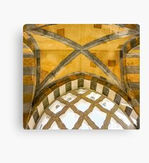 The Golden Arches of the Amalfi Cathedral in Amalfi, Italy #art #decor #architecture #Amalfi #Italy Canvas Print