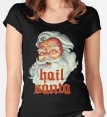 Hail Santa Women's Fitted Scoop T-Shirt