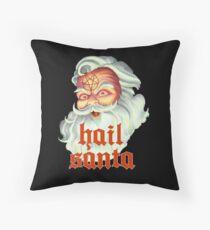 Hail Santa Throw Pillow