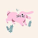 Curious Bunny by Susann Hoffmann