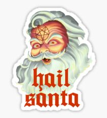 Hail Santa Sticker