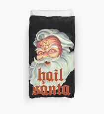 Hail Santa Duvet Cover