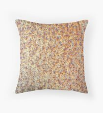 Corten steel Throw Pillow