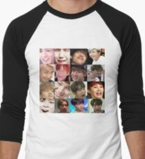 BTS meme Men's Baseball ¾ T-Shirt