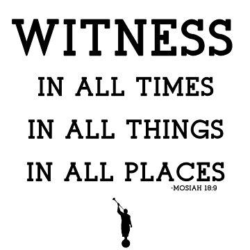 WITNESS OF GOD by LDStreetwear