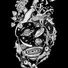 «Corazón del espacio» de Ruta Dumalakaite