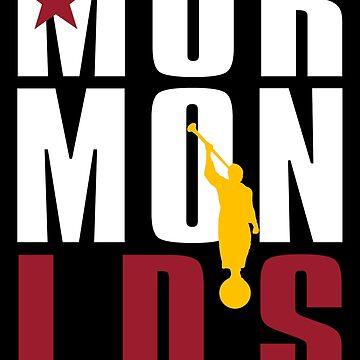 Mormon Republic T Shirt by LDStreetwear