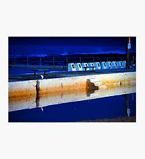 Sunrise - Merewether Baths Photographic Print