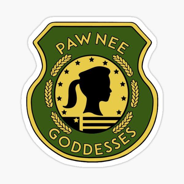 Pawnee Goddesses Sticker