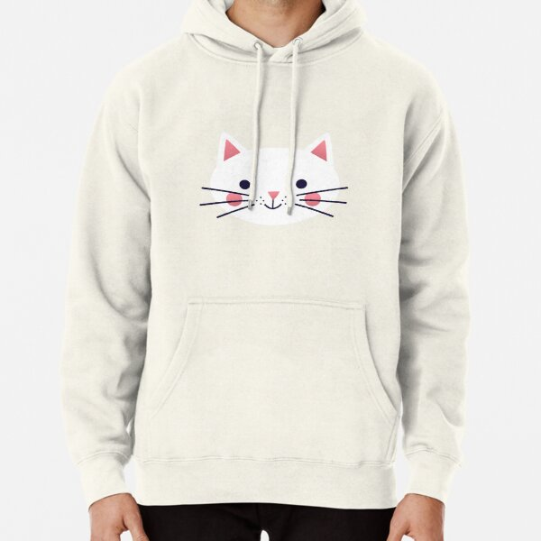 Friendly Cat Pullover Hoodie