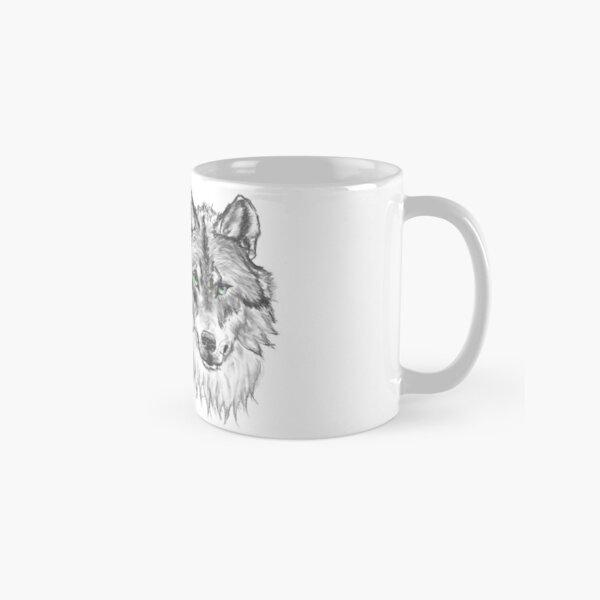 Wolf - Charcoal Animals Tasse (Standard)