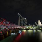 Helix Bridge by Paul Campbell  Photography