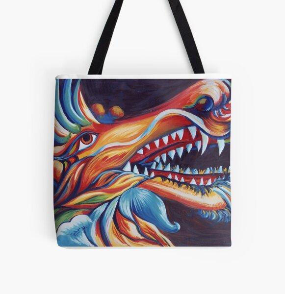 Dragons Glory All Over Print Tote Bag