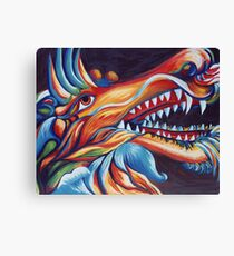 Dragons Glory Canvas Print