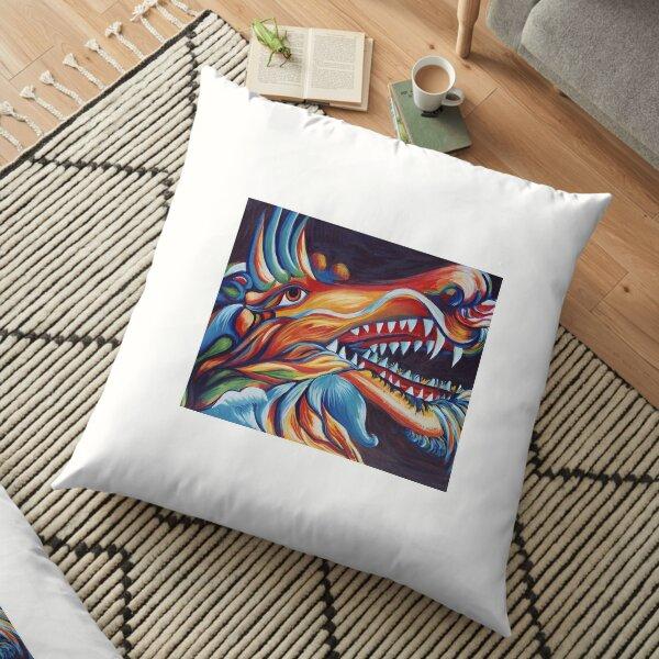 Dragons Glory Floor Pillow