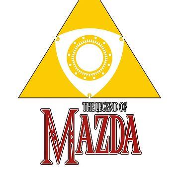 Legend of Mazda by kuronekojustice