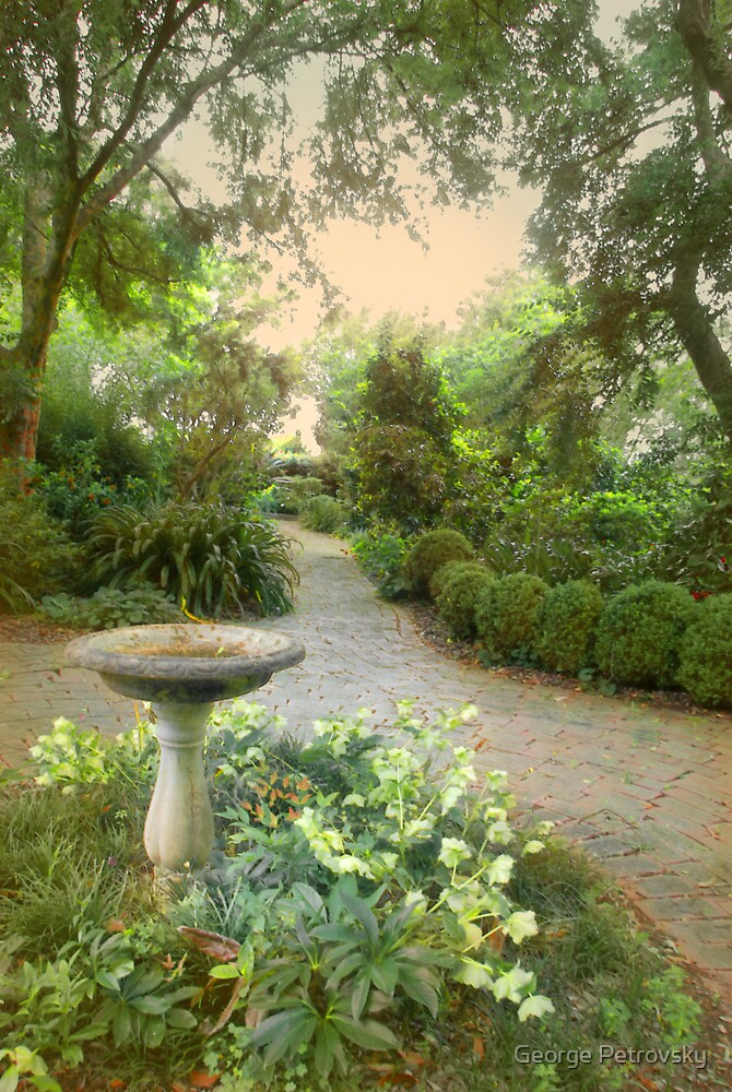 Spring Garden Path # 1 by George Petrovsky