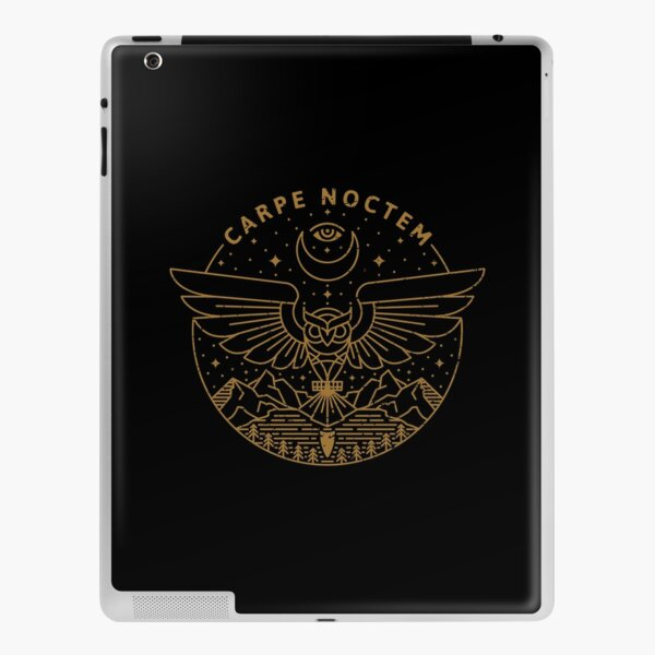Carpe Noctem iPad Skin