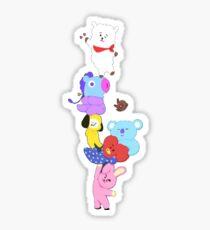 BT21 All Characters BTS Sticker