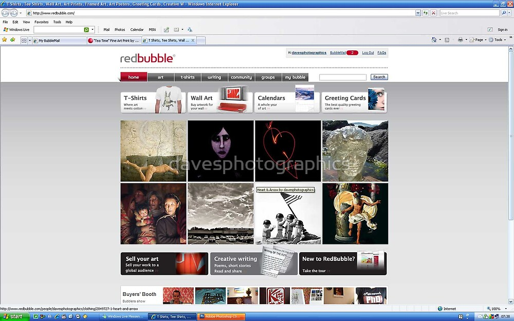 homepage feature by davesphotographics