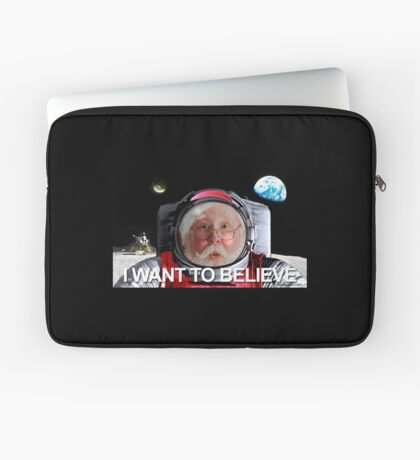 I Want To Believe 2 Laptop Sleeve