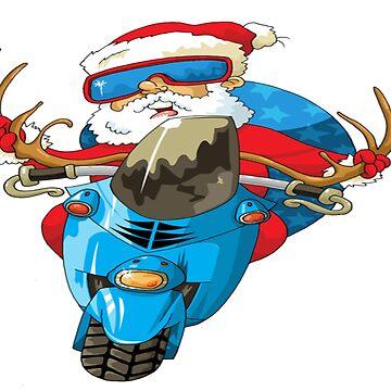 Funny santa t shirt by malda16