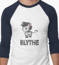 Zebra Blythe Men's Baseball ¾ T-Shirt
