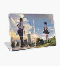 Kimi no na wa poster high quality Laptop Skin