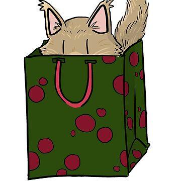 Kitty Christmas: Coon Bag by Kakibot