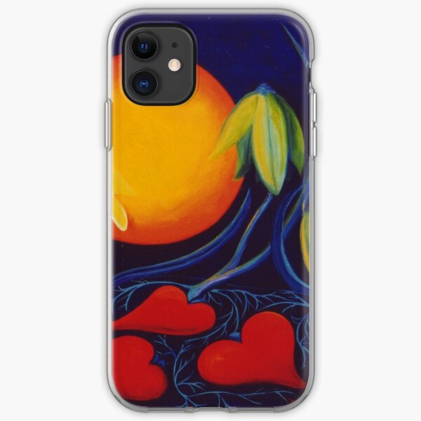 The Love of a Flower iPhone Soft Case
