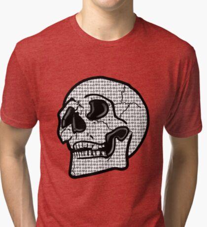 Poker Skull Tri-blend T-Shirt