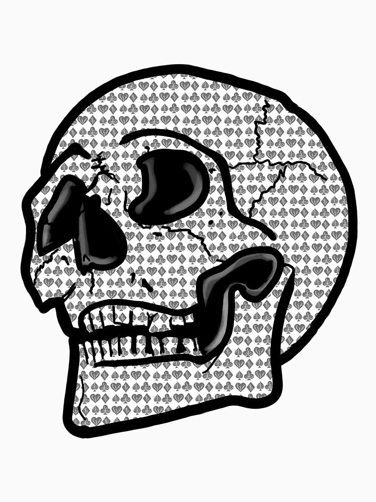 Poker Skull by fullrangepoker