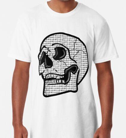 Poker Skull Long T-Shirt