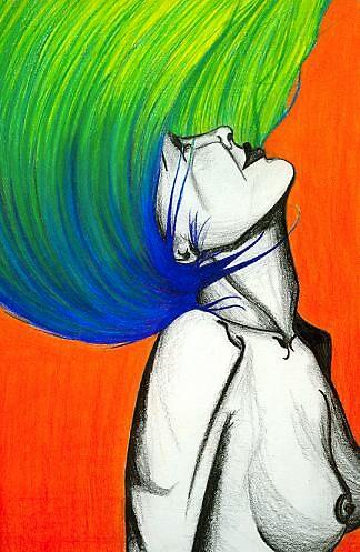 Head of Hair by Alexa Taylor