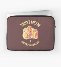 I am a Sharp Shooter Laptop Sleeve