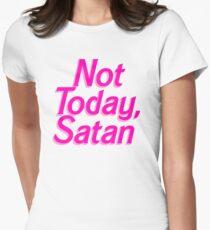 Not Today Satan Barbie - Funny Satan Barbie Parody Sticker T-Shirt Pillow Women's Fitted T-Shirt