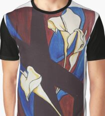 Lily Cross Graphic T-Shirt