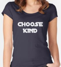 CHOOSE KIND ANTI BULLYING Women's Fitted Scoop T-Shirt