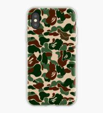 BAPE OG Green Camo iPhone Case