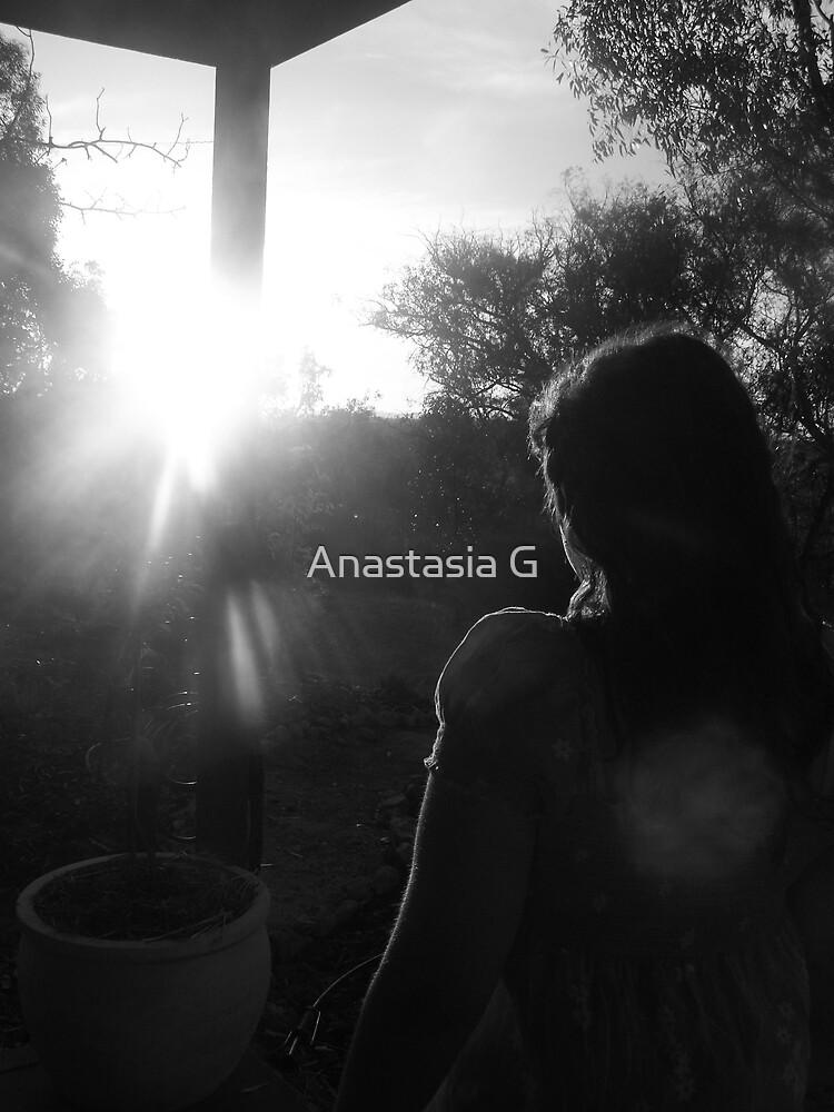 Looking through the sun  by Anastasia G
