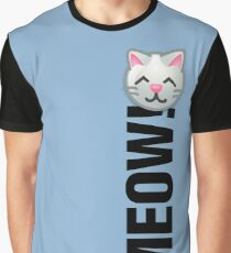 MEOW! (Text) Graphic T-Shirt