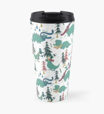 Dinosaur Hygge Travel Mug