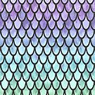 Pretty Mermaid Scales 200 by artlovepassion