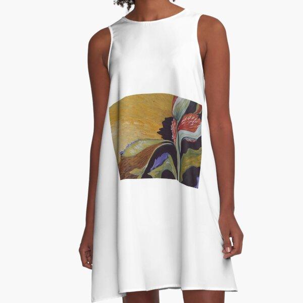 Hello Sun A-Line Dress
