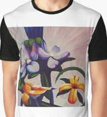 Flower Light Graphic T-Shirt